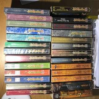 Dragonlance Novels Galore!! Advanced Dungeons and Dragons World of Krynn Eberron