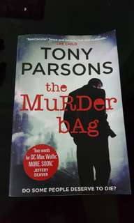 The Murder Bag by Tony Parsons (Autographed)