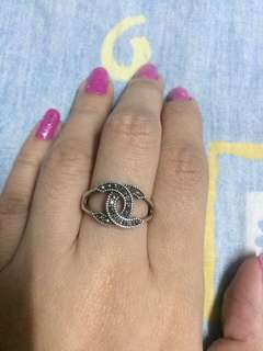Silver 925 ring size 5
