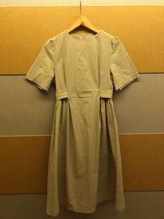 KOREAN LINEN DRESS