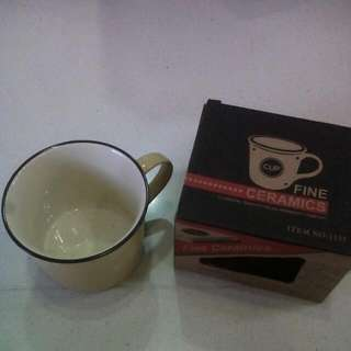 Fine Ceramic Cup - BNIB