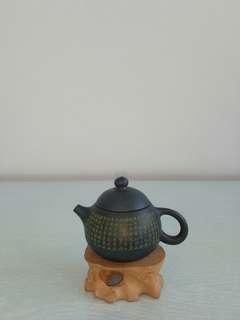 Vintage Blue Zisha Teapot Mint Condition