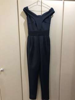 Apartment8 Navy Blue Jumpsuit