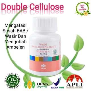 Supplemen Pencernaan Double Cellulose