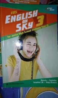 Buku Eos English On Sky 3 KTSP 2006, buku untuk smp kelas IX