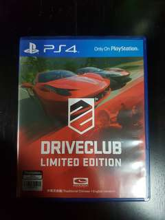 Driveclub - Limited Edition (PS4)