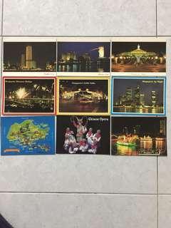 Singapore ~ Post Cards