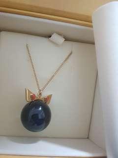Fendi bag bug necklace