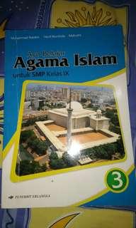 Buku ayo belajar agama islam untuk smp kelas 3 , penerbit erlangga