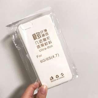 免費!透明簡單款手機殻 iPhone 6/6s case