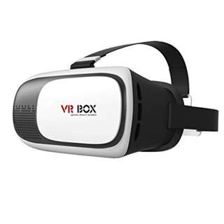 VR box with free remote