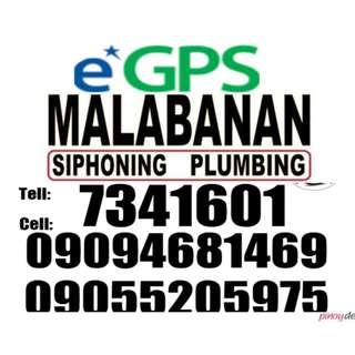 Malabanan sip sip pozo negro and plumbing services 09094681469 09055205975