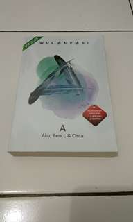 "Novel  : ""Aku, Benci, & Cinta"""