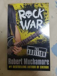 [WTS] Rock War: The Audition (Robert Muchamore)