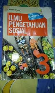Buku ilmu pengetahuan sosial kelas 3 SMP/MTS penerbit erlangga