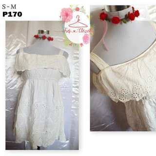 White Dress (Ukay Item)