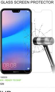 HUAWEI H20 Pro Tempered Glass Screen Protector Transparent Clear
