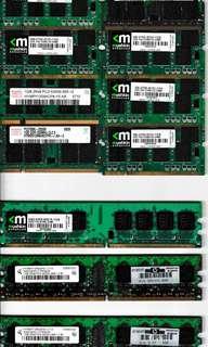 Computer RAM @ S$3 each