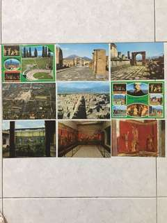 Pompei ~ Post Cards