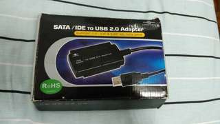 Sata and ide usb 2.0 adapter cable for hdds