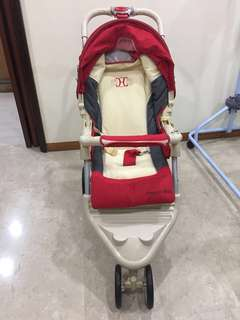Baby Stroller (used once, negotiable)