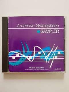CD(SOLD) American Gramaphone Sampler