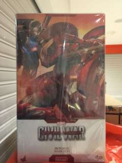 Hot toys ironman mark 46 civil war diecast