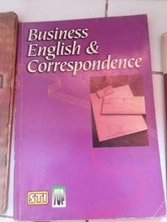 Business English and Corresponding books