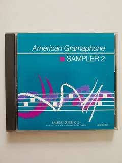 CD America Gramaphone Sampler 2