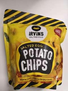 IRVINS 咸蛋薯片