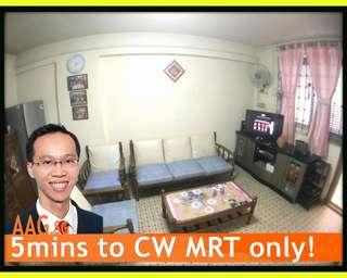 Budget 3Rm Flat. Near Commonwealth MRT!
