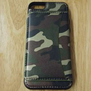 iPhone 6(s) Camo wallet case