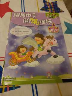 全新小四中文補充練習一套三本