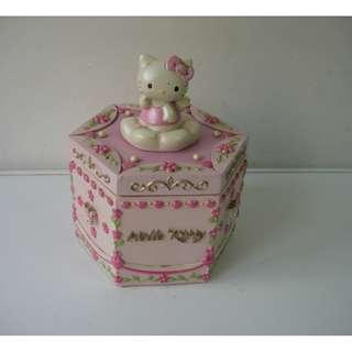 2002年SANRIO HELLO KITTY JEWELRY BOX 首飾盒
