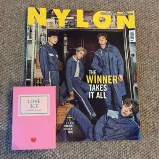 "NYLON ""THE WINNER TAKES IT ALL"" KPOP KOREAN MAGAZINE"
