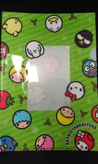 日本新Sanrio A4 file
