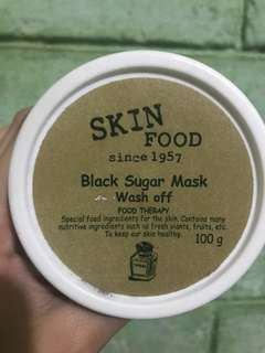 SKIN FOOD BLACK SUGAR MASK OFF