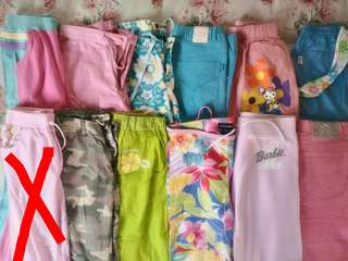 Branded (Barbie, Hello Kitty, Disney) pants
