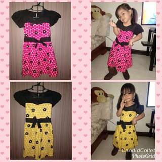 Bundle kids dress @250
