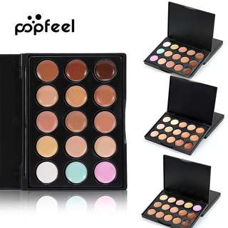 🦋POPFEEL 5 Color Contour Palette Make up Set Professional Concealer Palette🦋