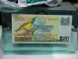 $20 note