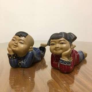 Q版陶瓷公仔