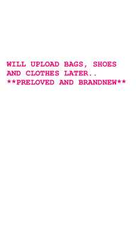 BAGS, SHOES, CLOTHES
