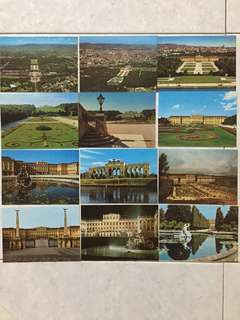 Schonbrunn Palace ~ Post Cars