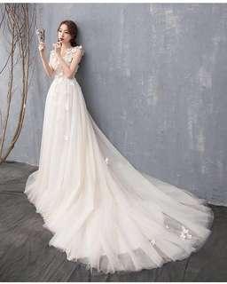 簡約森林系輕婚紗
