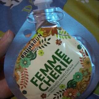 BrunBrun Femme Cherie Perfumed Hand Cream