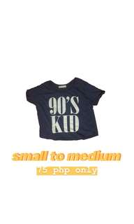 Cropped Top 90's Kids