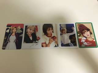 TWICE jungyeon photocard signal twicetagram heart shaker