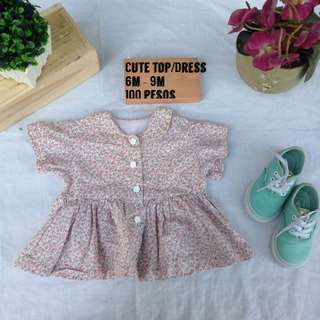 Cute korean top/dress for baby