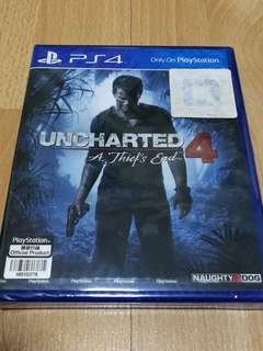 PS4 Uncharted 4 (NEW)
